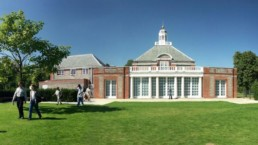 Serpentine Gallery Kensington Gardens em Londres